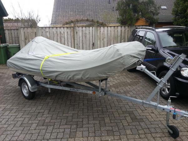Nimarine 390 2008 incl. 35 PK Evinrude en trailer uit 2012