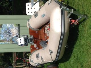 Phoenix Rubberboot Met Motor Langstaart Evinrude 6pk