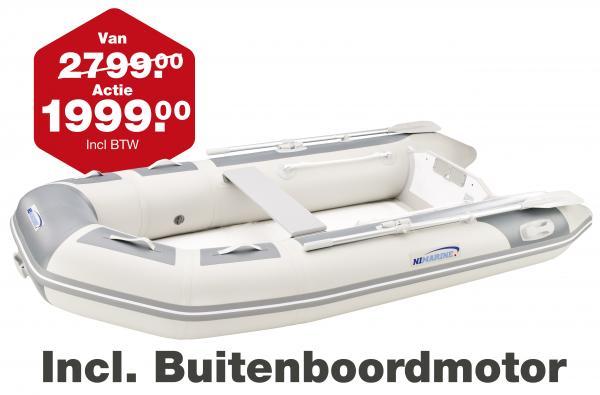 Nimarine Rubberboot RIB MX310 Met Buitenboordmotor DF6AS