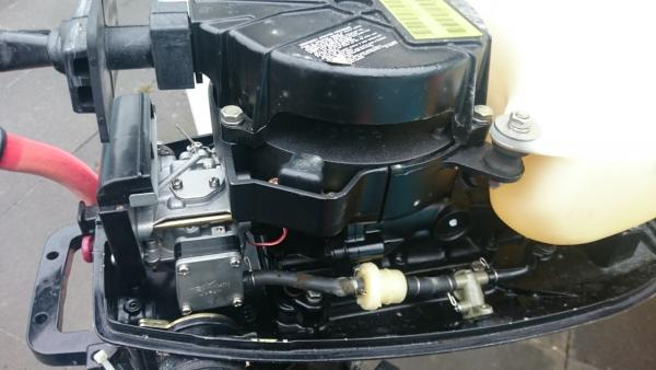 Stalen Sloep met 4PK Buitenboordmotor