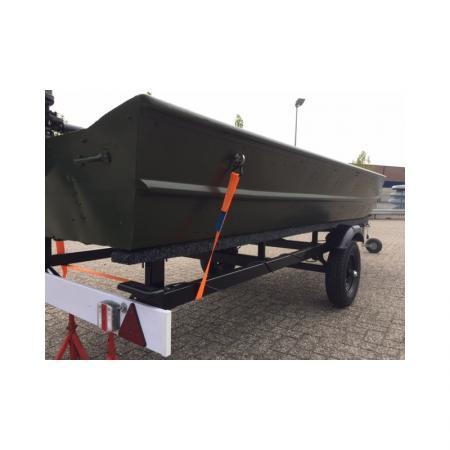 Alumacraft boot + 4 takt motor + Trailer + Afdekzeil