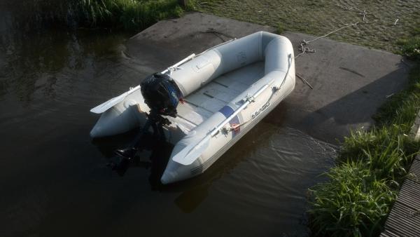 rubberboot SEABO 250 met TOHATSU 3.5 PK