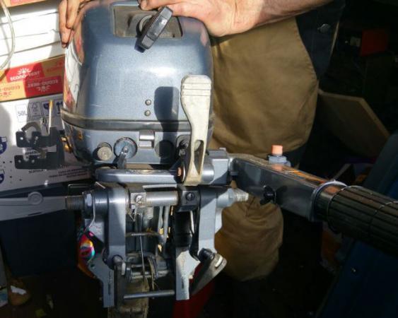Yamaha 9.9 buitenboordmotor