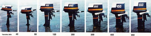 Volvo Penta Crescent Archimedes outboard parts / onderdelen