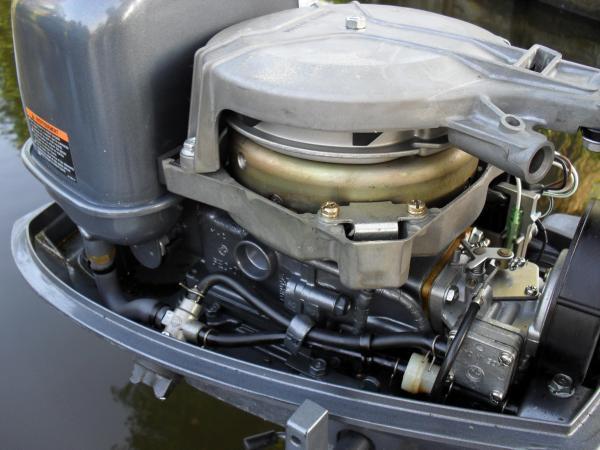 boot met motor